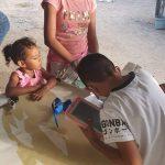 Niños de la zona rural de #Altamira estudian a través de celulares; edil levanta censo para entregar tabletas