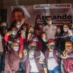 Reciben en Miramar al candidato a la alcaldía de Altamira por la coalición Morena-PT «Juntos Haremos Historia en Tamaulipas » Armando Martínez Manríquez.